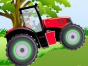 Bakugan la ferma cu tractorul