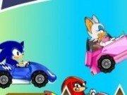 Sonic cursa de masini cart
