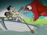 atacati de pesti piranha