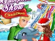 Spectacol cu delfini Editie de Craciun