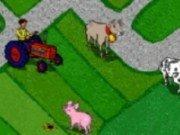 Tractor la ferma