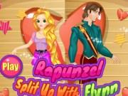 Rapunzel si Flynn Despartire