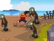 Lupta intre One Piece vs Zombie