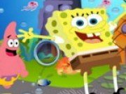 Spongebob cauta insigna de serif