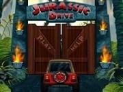 Joc de condus in jungla dinozaurilor