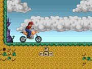 Mario Bros Cursa cu Motocicleta