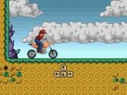 Mario Bros Cursa cu Motocicleta