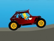 Bart Simpson cu masina Buggy