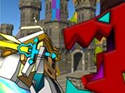 Aventura într-o lume Castel Medieval