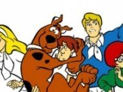 Coloreaza-l Scooby Doo