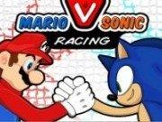 Concurs de motociclete Mario vs Sonic