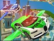 Zbor Simulator cu mașina poliției 3D