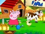 Purcelusa Peppa Pig la ferma