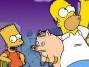 Bart Simpson si Homer Actiune