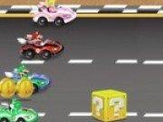 Joc nou cu Super Mario curse de masini