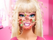 Barbie machiaj facial de la 0