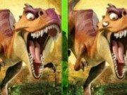 Diferente cu dinozauri