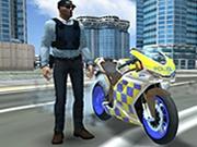 Cascadorii cu motocicleta politiei