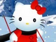 Hello Kitty distractie la Ski
