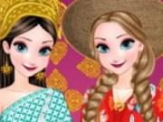 Elsa si Anna vacanta in Thailanda