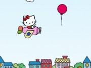 Hello Kitty aventura cu avionul
