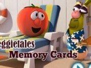 Carti de memorie cu Veggie Tales