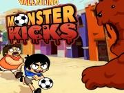 Victor si Valentino lovituri de fotbal monstru