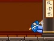 Sarituri pe platforme cu Ninja Click