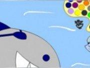 Coloreaza rechinul