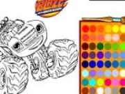 Masinile Blaze de colorat