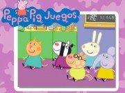 Puzzle cu Peppa Pig si Suzy