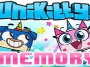 Unikitty: joc cu carti de memorie