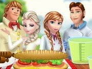 Familia Frozen la Picnic