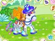 De imbracat ponei frumosi