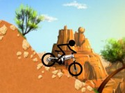 Stickman cascadorii cu bicicleta