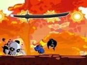 Samurai impotriva forțelor întunericului din pădure