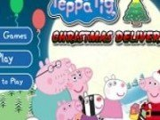 Peppa Pig livreaza cadouri de Craciun