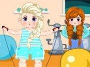 Lenesa Elsa incearca sa slabeasca