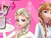 Cake Pops gatite de Elsa si Anna
