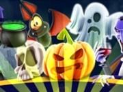 Match 3 cu elemente Halloween