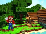Minecraft in lumea lui Mario