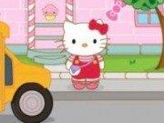 Hello Kitty pregatiri de scoala