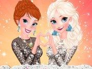 O seara de distractie cu surorile Frozen