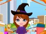 Cumparaturi de Halloween cu Baby Barbie