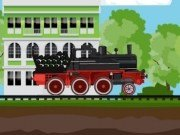 Tren marfar cu aburi