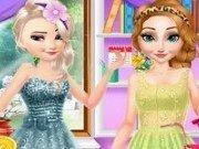 Anna și Elsa cadou pentru Mama