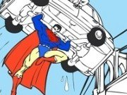 Superman Cartoon de colorat