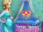 Joc de decorat camera bebelusului lui Elsa