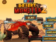 Camion Monster Truck in desert 2