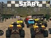 Cursa rapida cu masini Monster Truck